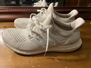 Adidas Ultra Boost Triple White for Sale in Brandon, FL