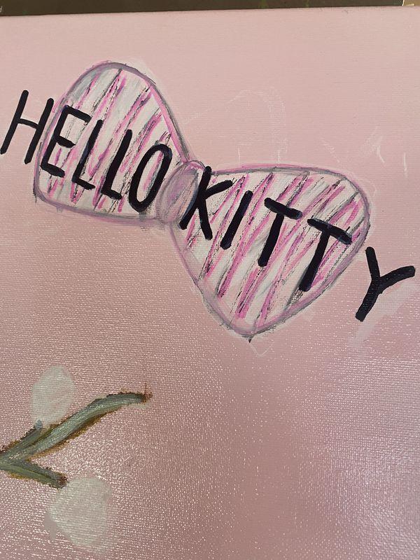Hello Kitty canvas 24x30