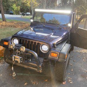 1999 Jeep Wrangler for Sale in Bourbonnais, IL