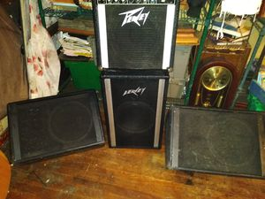 Speakers , guitars, moniters, amps and more for Sale in Kansas City, MO