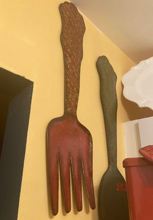 Fork and spoon wall art for Sale in Fort Lauderdale, FL