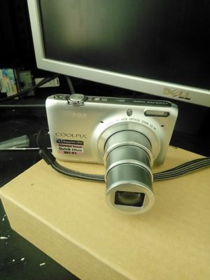 Nikon s6500 16.0 megapixels with wifi for Sale in Anaheim, CA