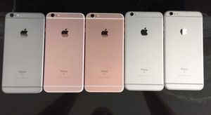 iPhone 6s unlocked 32GB or 16GB wholesale lots of 5 great condition for Sale in North Miami Beach, FL
