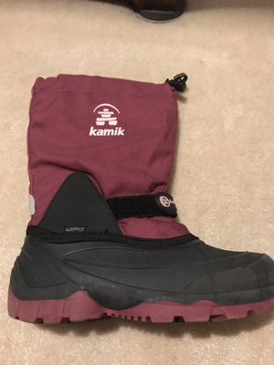 Girls Kamik Winter Boots size 3 for Sale in Nashua, NH