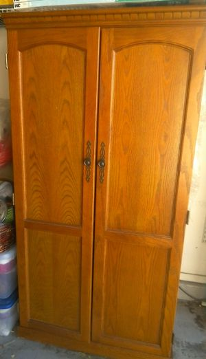 Computer Armoire in Solid Wood for Sale in Las Vegas, NV