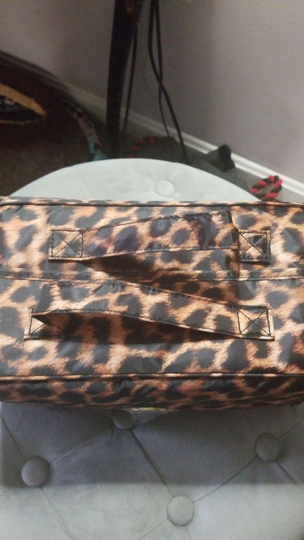 New Joy Mangano Foldable Make up bag