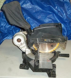 """BLACK & DECKER 1701 TYPE 1 10"""" PROFESSIONAL MITER SAW & MORE TOOLS for Sale in Coral Springs, FL"""