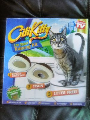 Citi Kitty Toilet Training Kit for Cats for Sale in Atlanta, GA