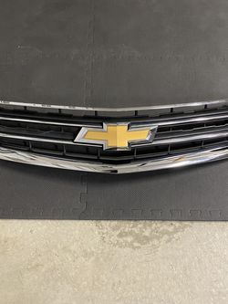Chevy Impala Upper And Lower Grille 2014 - 2020 Includes Gold Chevy Bow tie for Sale in Ontario,  CA