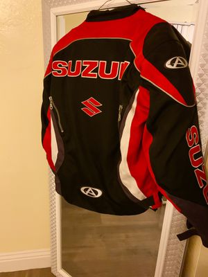 Suzuki motorcycle jacket for Sale in San Bernardino, CA