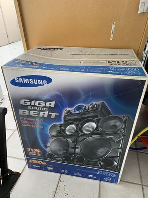 Samsung - 2200W Stereo System - Black for Sale in Miami, FL