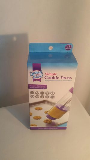 Baking Cookie Press, Kitchen Tool for Sale in Manchester Township, NJ