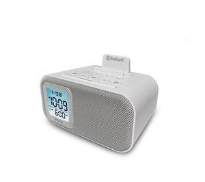 White iHome Bluetooth Speaker and Alarm Clock for Sale in Upper Marlboro, MD