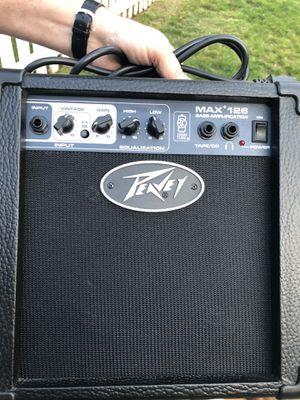 Peavey Max 126 10-Watt Bass Amp Combo bass guitar amp for Sale in Edmonds, WA