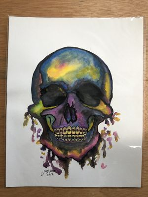 "Original Watercolor painting 11""x14"" handmade for Sale in Lynwood, CA"