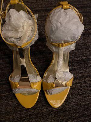 Yellow heels for Sale in Hyattsville, MD
