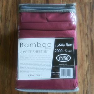 Brand New Bamboo 6 Piece Sheet Set - Twin, Full, Queen, King for Sale in Davenport, FL