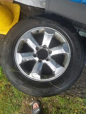 Tire/rim/six lug for Sale in Boston, MA