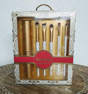 Kensie - Six Piece Travel Eye Brush Set for Sale in undefined