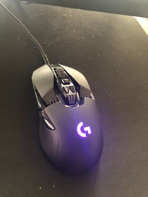 Logitech -g903 wireless optical gaming mouse with RGB lighting for Sale in Tampa, FL