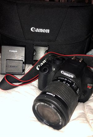 CANON EOS REBEL T5 for Sale in Middlebury, CT