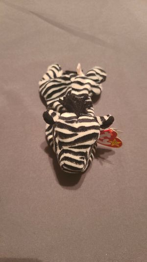 Ty beanie baby Ziggy the Zebra December 24 1995 original tags for Sale in Manassas, VA