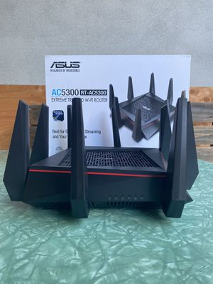 ASUS Wireless Router Triband Gaming for Sale in San Diego, CA