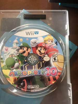 Mario Wii U games for Sale in Santa Maria, CA