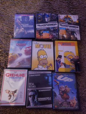 Assorted dvd movies for Sale in La Habra, CA