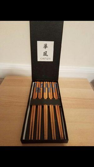 New KAFUH Chopsticks - 5 Sets for Sale in Cranford, NJ