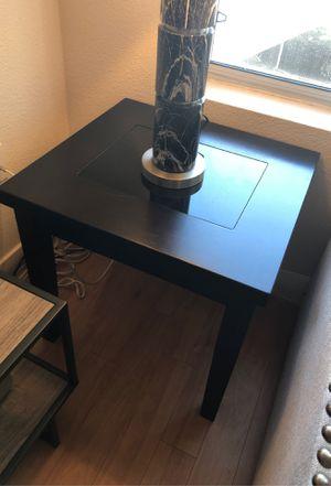3 Piece Ashley Furniture Black Table Set for Sale in Scottsdale, AZ