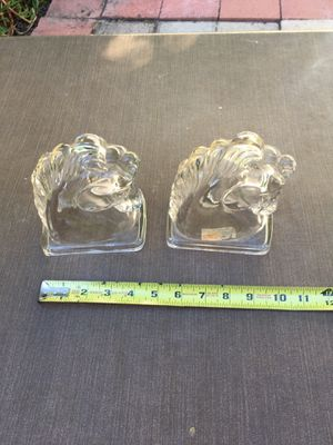 Vintage glass bookends for Sale in Mission Viejo, CA