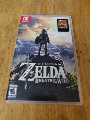 Zelda Breath of the Wild Nintendo Switch for Sale in Seattle, WA