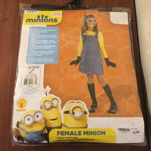Despicable Me Female Minion Costume - NIP- Complete for Sale in Peabody, MA