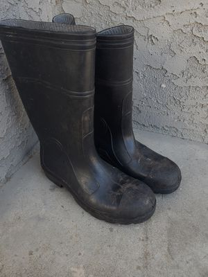 Steel toe rain boots for Sale in Norwalk, CA