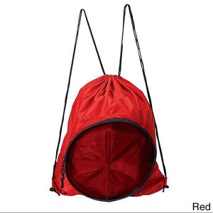 Ball Bag - Red Sport Ball Drawstring Backpack for Sale in Newtown, CT