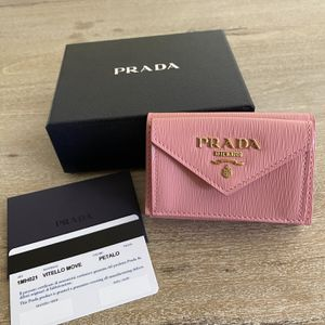 Brand New Auth PRADA Small Wallet Coin Purse Case Card Holder for Sale in Pasadena, CA