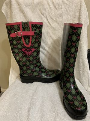 Roxy Rain Boots for Sale in Bellflower, CA