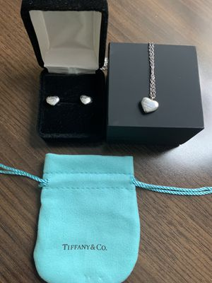 Tiffany necklace and earrings for Sale in Las Vegas, NV