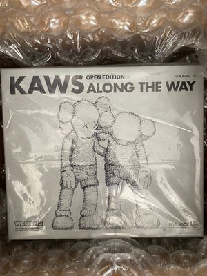 Kaws Along the Way Figure Grey for Sale in Chula Vista, CA