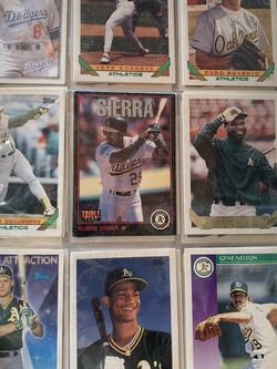 Hundreds Of Baseball cards for Sale in Oakdale,  CA