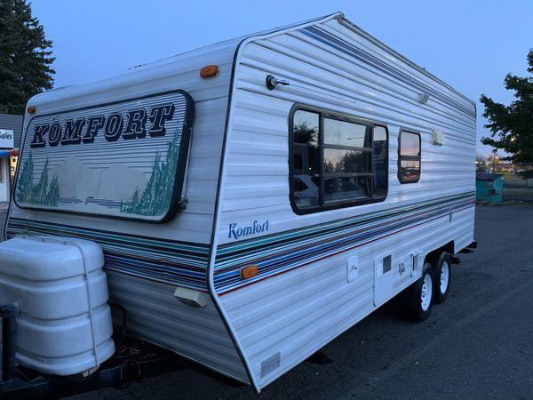 1996 Komfort Lite travel trailer 18-foot for Sale in ...