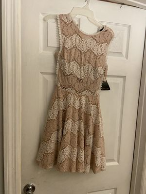 Brown and beige dress for Sale in Opa-locka, FL