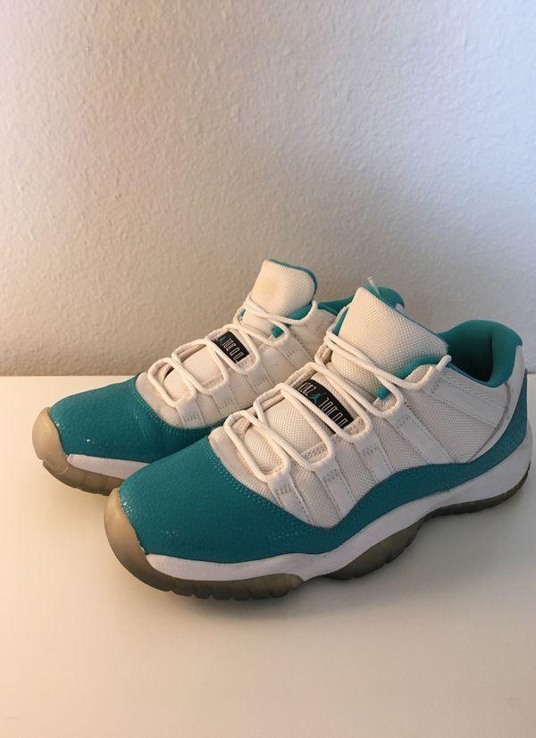 Air Jordan 11s Aqua Blue Low Y7