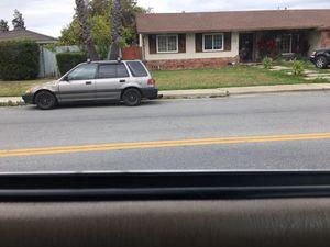 1990 Honda Civic wagon for Sale in Stockton, CA