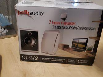 PolkAudio OWM3 Surround/Satellite Speakers for Sale in Tampa,  FL