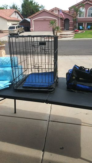 Dog cage + for Sale in Mesa, AZ