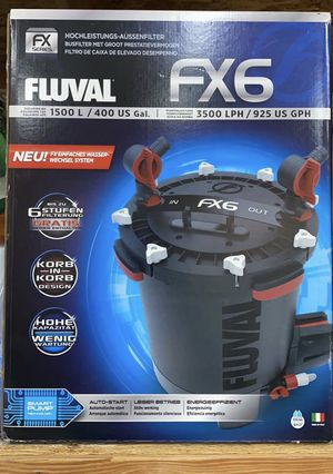 Fluval FX6 Canister Filter for Sale in Hayward, CA