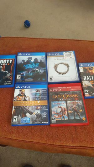 PS4 and PS3 games for Sale in Moreno Valley, CA