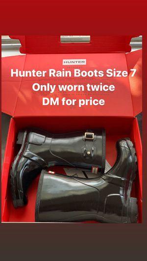 Hunter Rain Boots for Sale in Upper Marlboro, MD